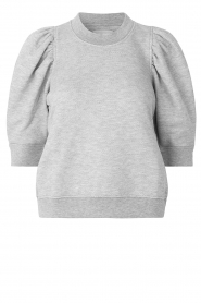 Second Female |  Sweater with puff sleeves Dawni | grey  | Picture 1