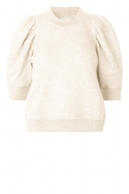Second Female |  Sweater with puff sleeves Dawni | white  | Picture 1