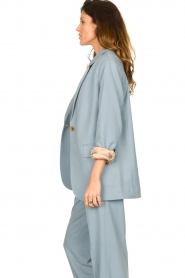 Second Female |  Oversized blazer Siana | blue  | Picture 6