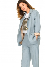 Second Female |  Oversized blazer Siana | blue  | Picture 5