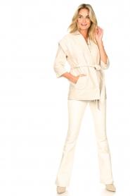 Second Female |  Waistcoat Hilla | beige  | Picture 3