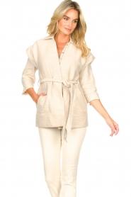 Second Female |  Waistcoat Hilla | beige  | Picture 4