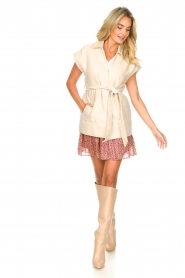 Second Female |  Waistcoat Hilla | beige  | Picture 8