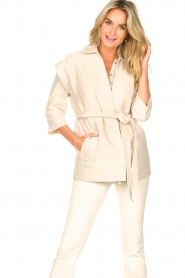 Second Female |  Waistcoat Hilla | beige  | Picture 2