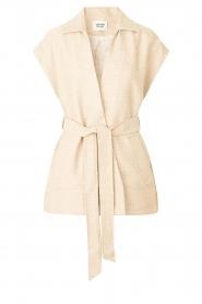 Second Female |  Waistcoat Hilla | beige  | Picture 1