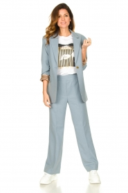 Second Female |  Trousers Sinia | blue  | Picture 2