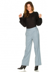 Second Female |  Trousers Sinia | blue  | Picture 3