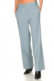 Second Female |  Trousers Sinia | blue  | Picture 4