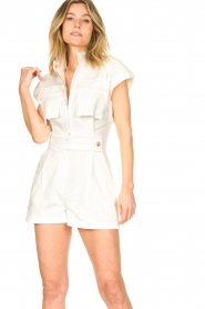 CHPTR S |  Tailored playsuit Breeze | white  | Picture 6