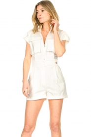 CHPTR S |  Tailored playsuit Breeze | white  | Picture 5