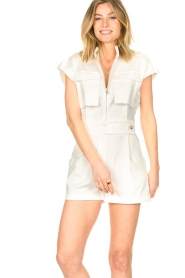 CHPTR S |  Tailored playsuit Breeze | white  | Picture 2
