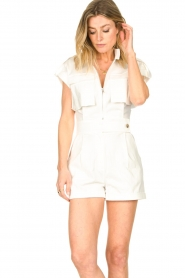 CHPTR S |  Tailored playsuit Breeze | white  | Picture 4