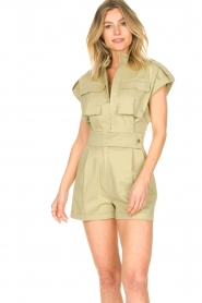 CHPTR S |  Tailored playsuit Breeze | light green  | Picture 2