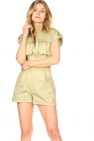 CHPTR S |  Tailored playsuit Breeze | light green  | Picture 4