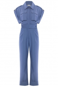 CHPTR S |  Fitted jumpsuit Forect | blue