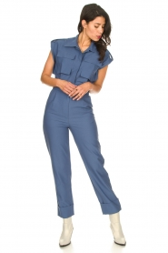 CHPTR S |  Fitted jumpsuit Forect | blue  | Picture 5