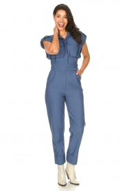 CHPTR S |  Fitted jumpsuit Forect | blue  | Picture 2