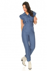 CHPTR S |  Fitted jumpsuit Forect | blue  | Picture 4