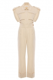 CHPTR S |  Fitted jumpsuit Forest | beige  | Picture 1