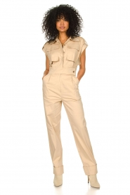 CHPTR S |  Fitted jumpsuit Forest | beige  | Picture 2
