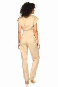 CHPTR S |  Fitted jumpsuit Forest | beige  | Picture 5