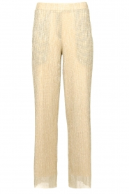 CHPTR S |  Wide lurex pants Rocky | gold  | Picture 1