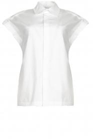 CHPTR S |  Cotton blouse Stone | white  | Picture 1