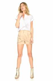 CHPTR S |  Cotton blouse Stone | white  | Picture 3