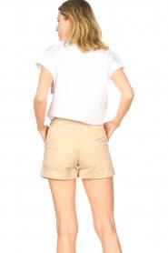 CHPTR S |  Cotton blouse Stone | white  | Picture 7