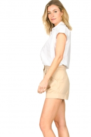 CHPTR S |  Cotton blouse Stone | white  | Picture 6