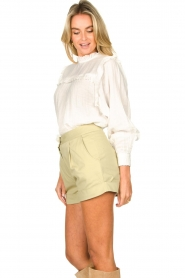 CHPTR S |  Shorts Dusty | light green  | Picture 7