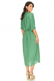 Rabens Saloner |  Midi dress with waistbelt Penny | green  | Picture 6