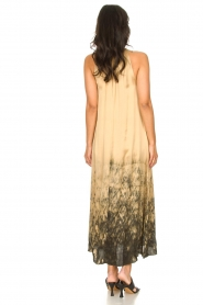 Rabens Saloner |  Maxi dress with tie dye print Hope | beige  | Picture 7