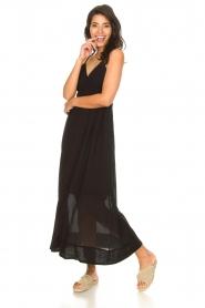 Rabens Saloner |  Maxi dress Jen | black  | Picture 4