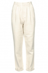 Rabens Saloner |  Loose trousers Raina | natural  | Picture 1