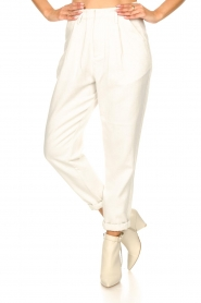 Rabens Saloner |  Loose trousers Raina | natural  | Picture 5