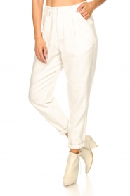 Rabens Saloner |  Loose trousers Raina | natural  | Picture 6