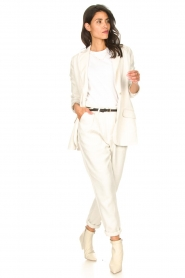 Rabens Saloner |  Loose trousers Raina | natural  | Picture 2