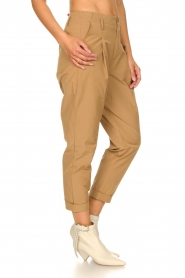 Rabens Saloner |  Loose trousers Raina | beige  | Picture 7