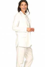 Rabens Saloner |  Oversized blazer Alona | natural  | Picture 8