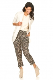 Rabens Saloner |  Oversized blazer Alona | natural  | Picture 5