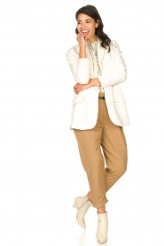 Rabens Saloner |  Oversized blazer Alona | natural  | Picture 4