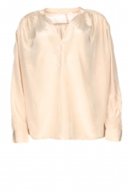 Rabens Saloner |  Oversized blouse Mag | faded pink  | Picture 1