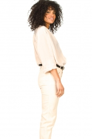 Rabens Saloner |  Oversized blouse Mag | faded pink  | Picture 5