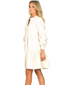 Ibana :  Lamb leather dress Debbie | white - img6