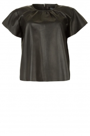 Ibana |  Lamb leather top Talika | black  | Picture 1