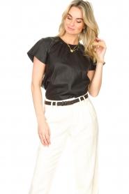 Ibana |  Lamb leather top Talika | black  | Picture 4