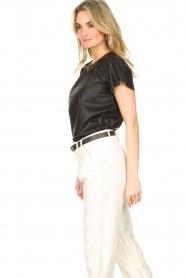 Ibana |  Lamb leather top Talika | black  | Picture 5