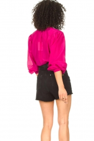 Dante 6 |  Blouse with puff sleeves Ginni | pink  | Picture 6