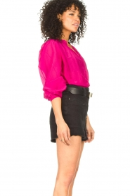 Dante 6 |  Blouse with puff sleeves Ginni | pink  | Picture 5
